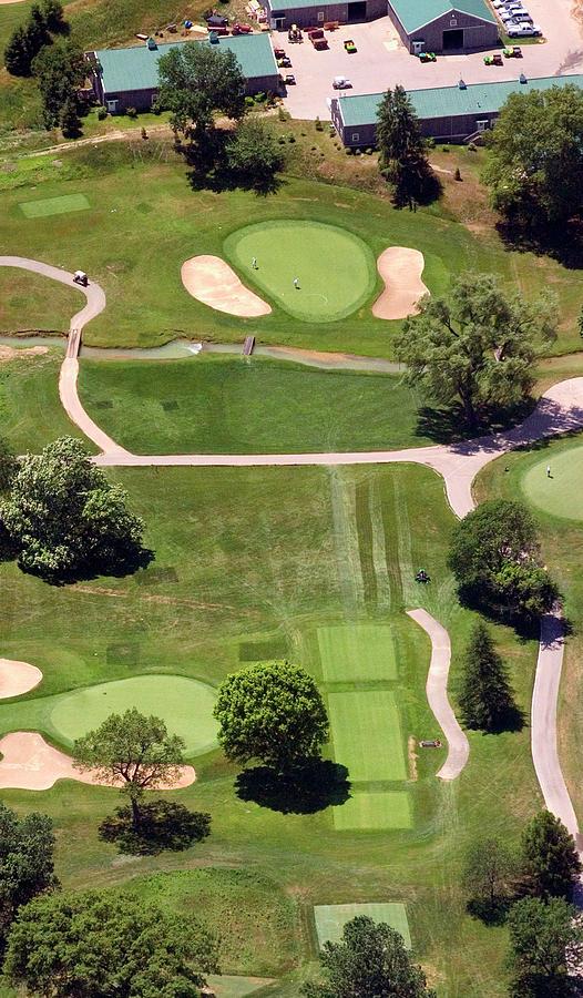 Philadelphia Cricket Club Photograph - Philadelphia Cricket Club Wissahickon Golf Course 8th Hole by Duncan Pearson
