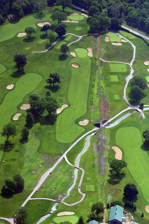 Philadelphia Cricket Club Photograph - Philadelphia Cricket Club Wissahickon Golf Course 9th Hole by Duncan Pearson