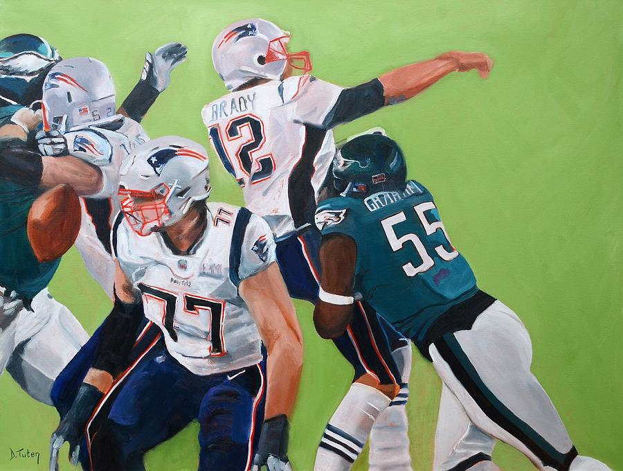 Tom brady happy birthday card image collections birthday cards ideas philadelphia eagles strip sack of tom brady in super bowl lii football painting philadelphia eagles strip bookmarktalkfo Image collections