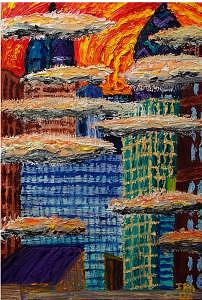 Philadelphia Freedom Painting by Ira Stark