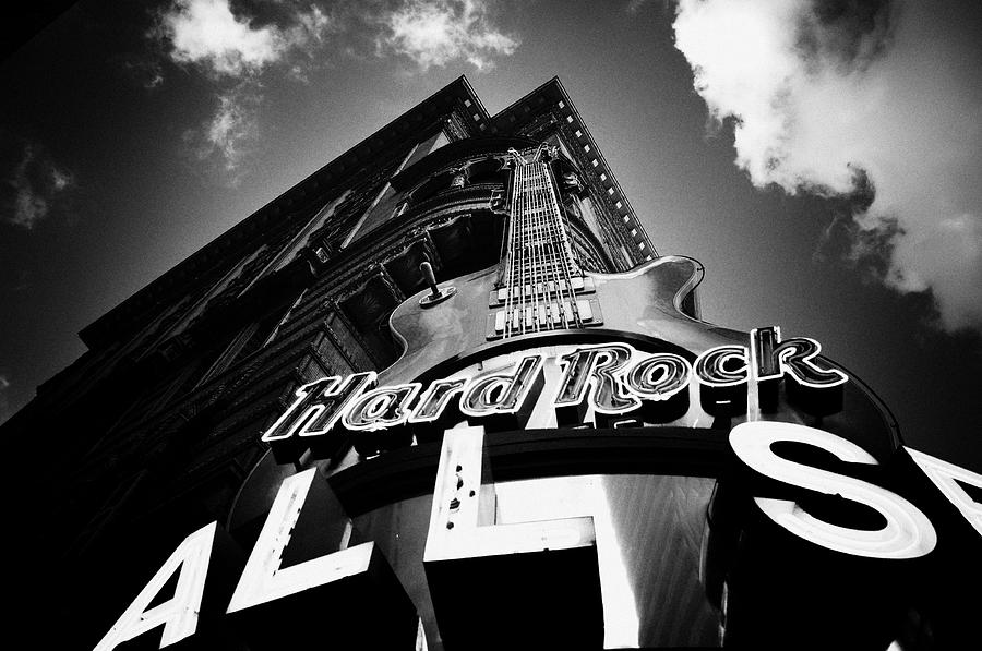 Philadelphia Photograph - Philadelphia Hard Rock Cafe  by Bill Cannon