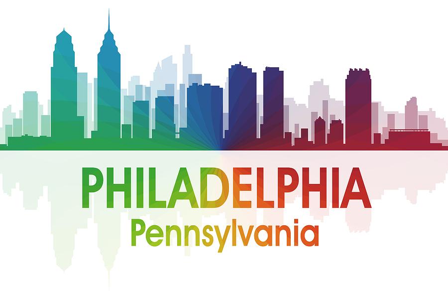 Philadelphia Mixed Media - Philadelphia Pa by Angelina Vick