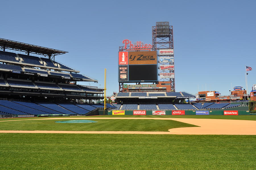 Philadelphia Phillies Photograph - Philadelphia Phillies Stadium  by Brynn Ditsche
