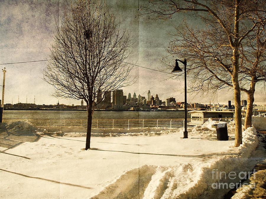 Philadelphia Photograph - Philadelphia Snowscape by Milton Brugada