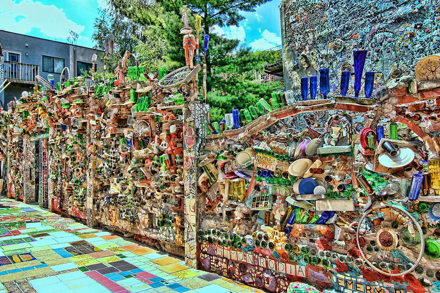 Philadelphia\'s Magic Gardens 3 Photograph by Allen Beatty