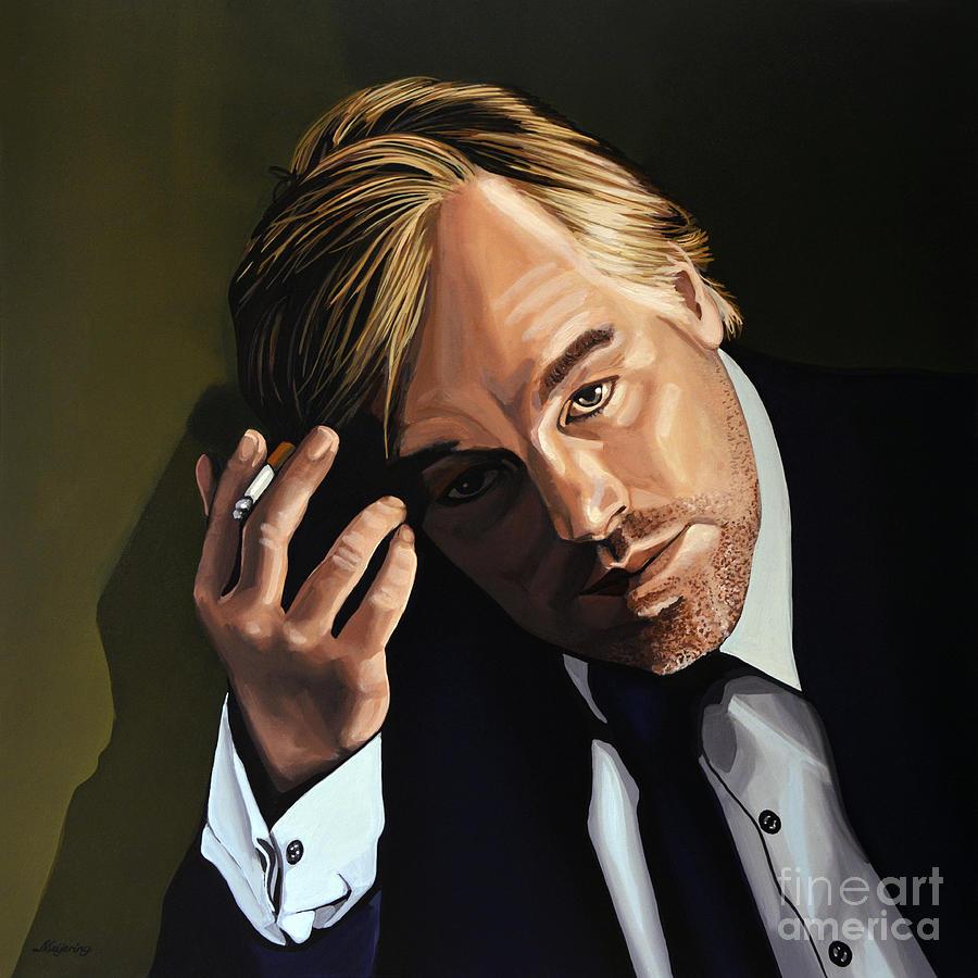 Philip Seymour Hoffman Painting - Philip Seymour Hoffman by Paul Meijering