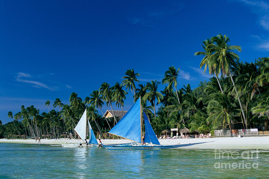 Anchor Photograph - Philippines, Boracay Isla by Gloria & Richard Maschmeyer - Printscapes