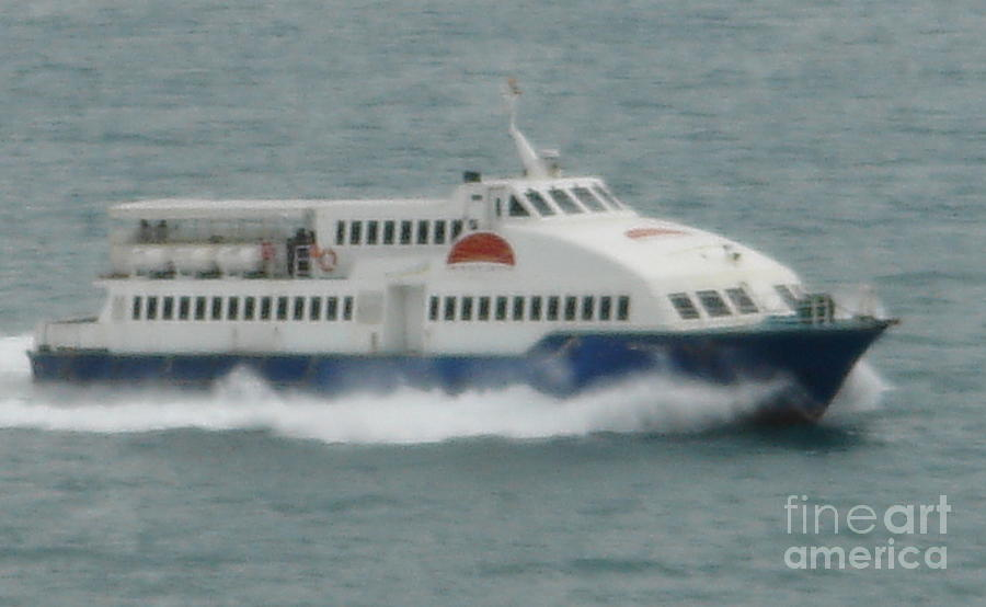 Cebu Photograph - Philippines Island Ferry by Mike Holloway