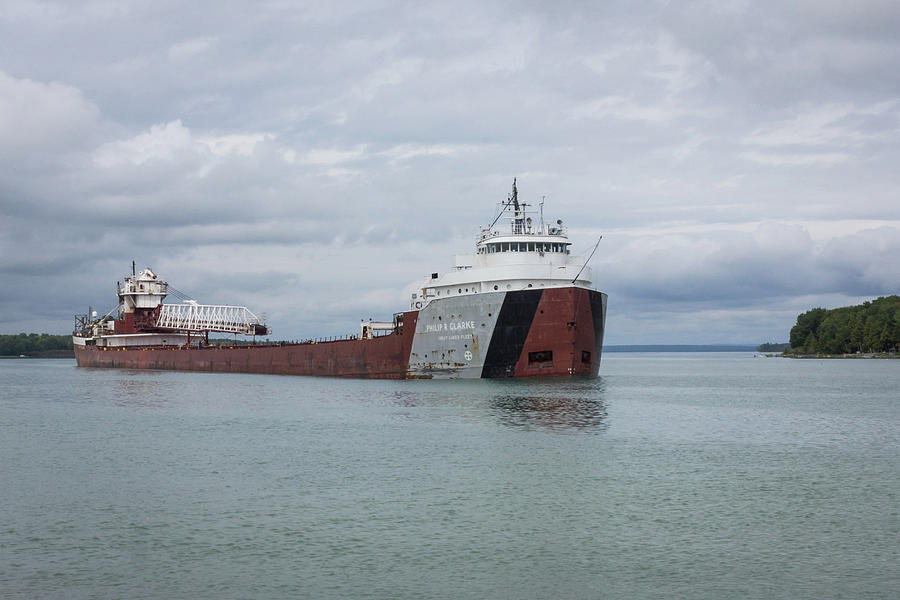 Great Photograph - Phillip R. Clarke Freighter by Kimberly Kotzian