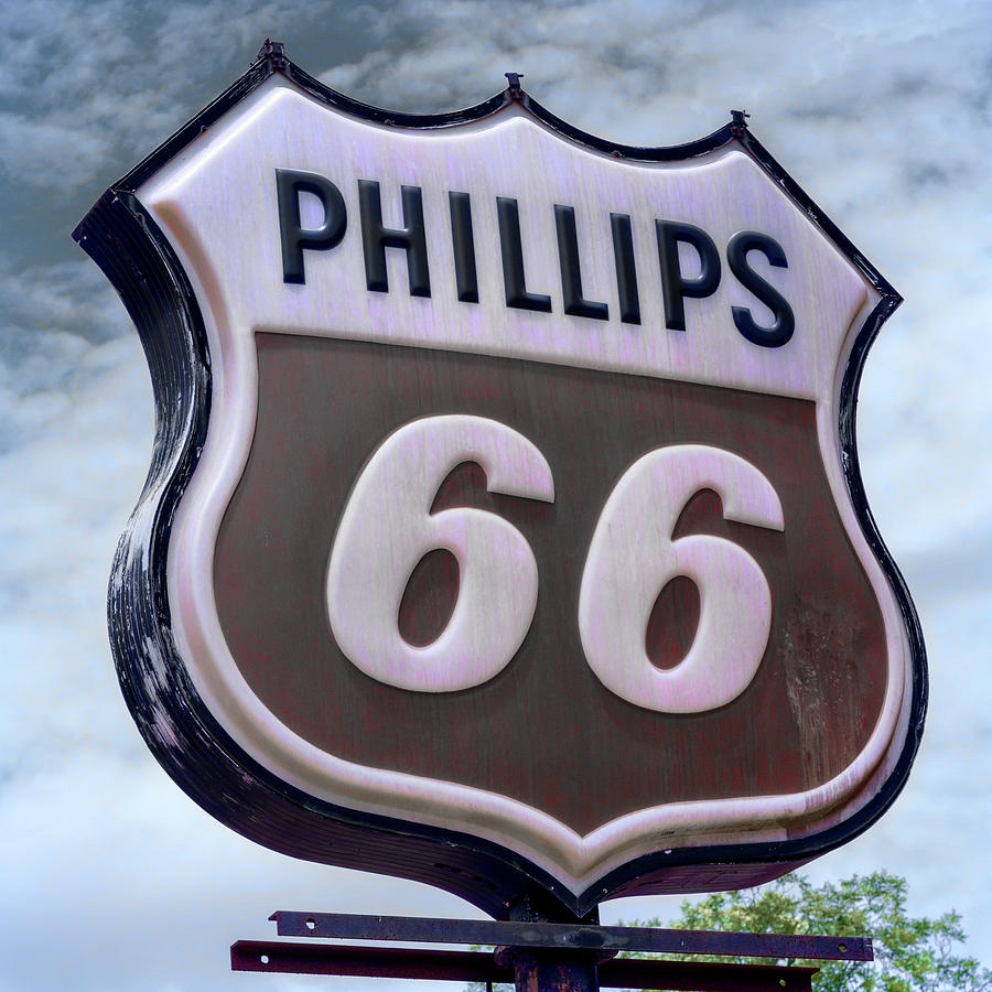 Plains Photograph - Phillips 66 - 5 by Stephen Stookey