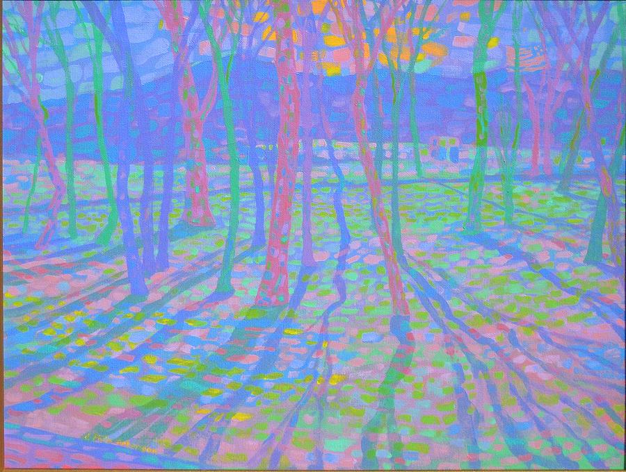 Landscape Painting - Philmont Park II by Philip Peterson