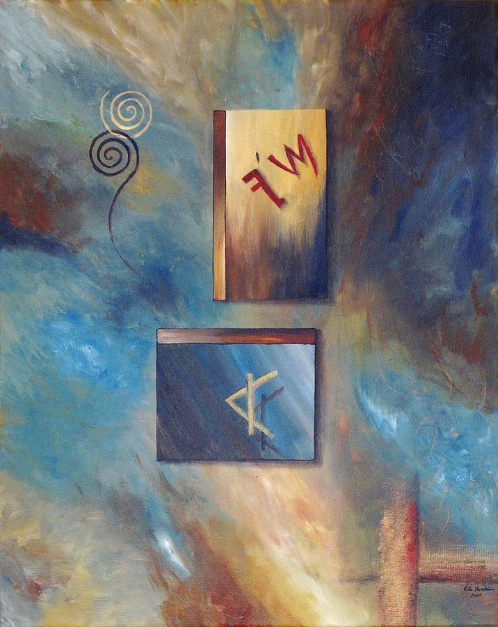 Phoenician Painting - Phoenician Journey  by Rita  Ibrahim