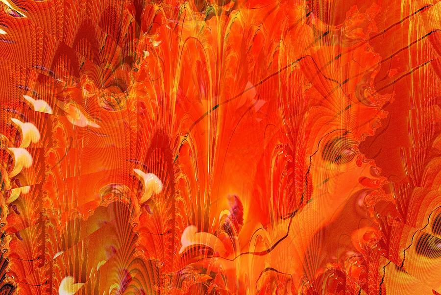Firefly Digital Art - Phoenix by Don  Wright