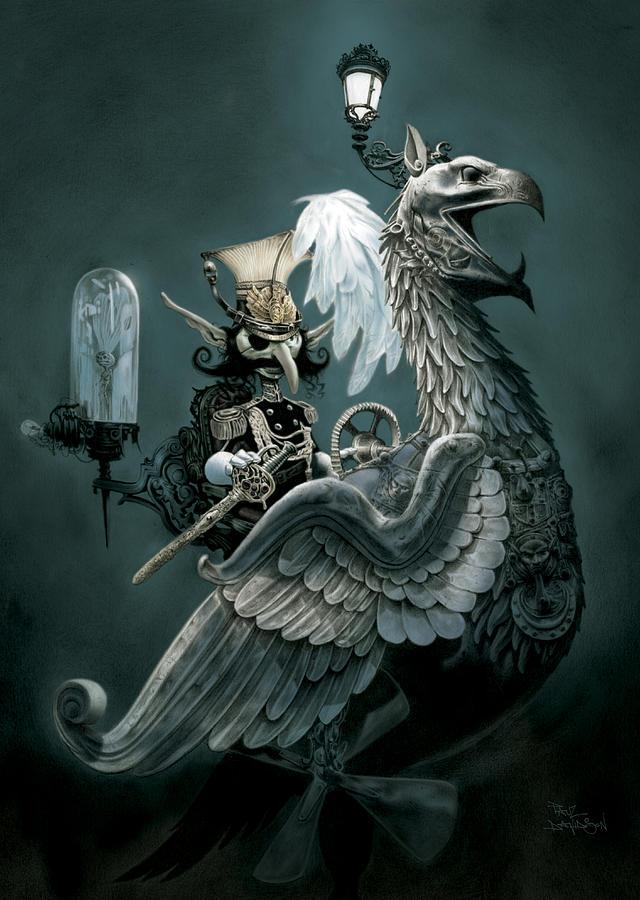 Goblin Painting - Phoenix Goblineer by Paul Davidson