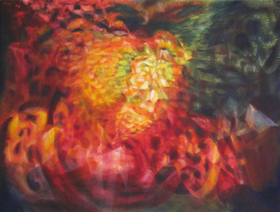 Phoenix In Flight Painting by Dan Pate