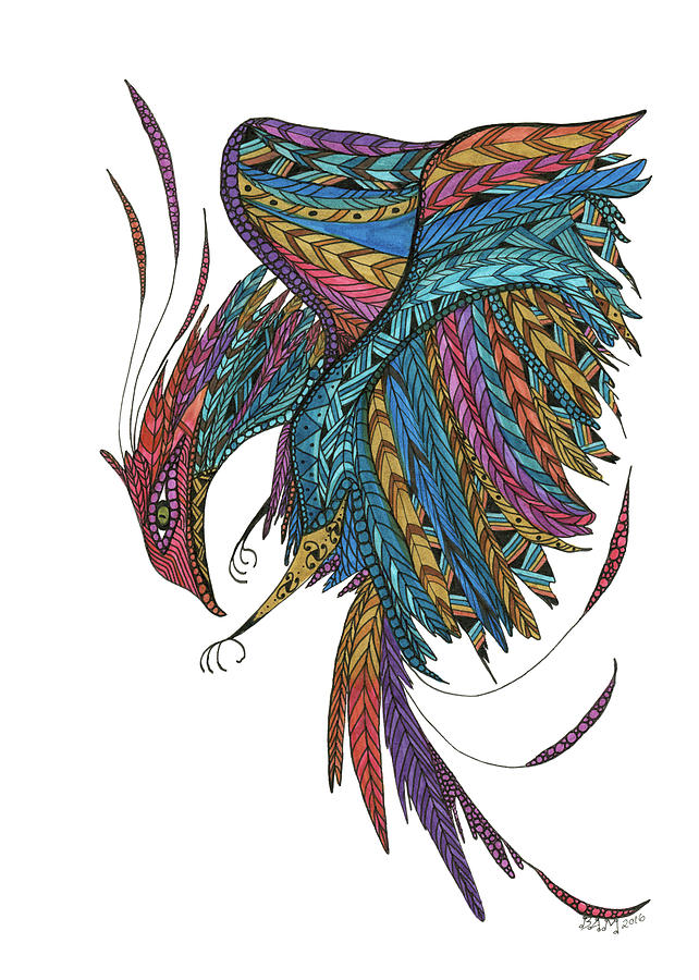 Phoenix Landing by Barbara McConoughey