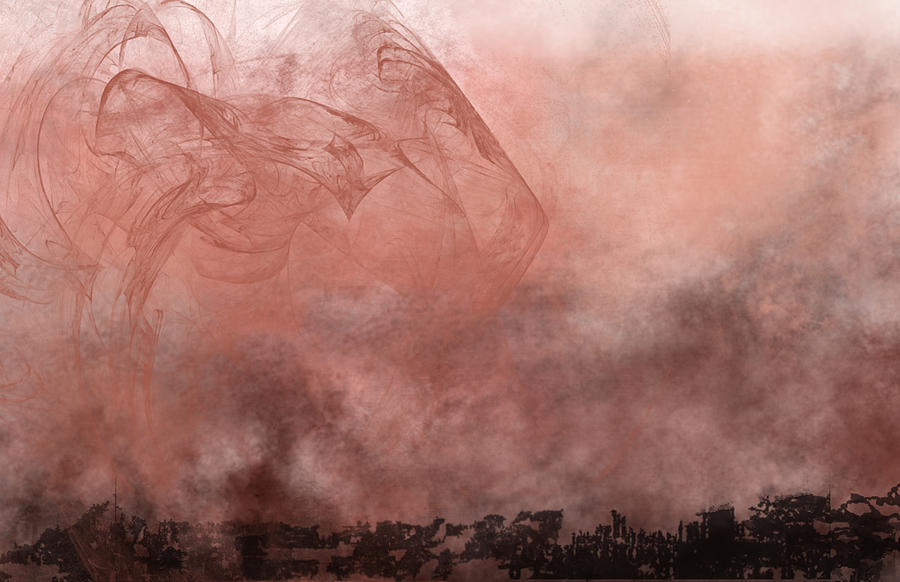 Phoenix Painting - Phoenix Rising by Christopher Gaston