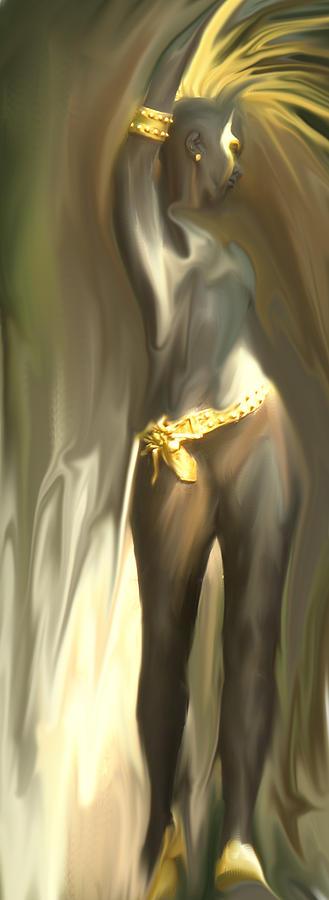 Abstract Digital Art - Phoenix Rising by Ian  MacDonald