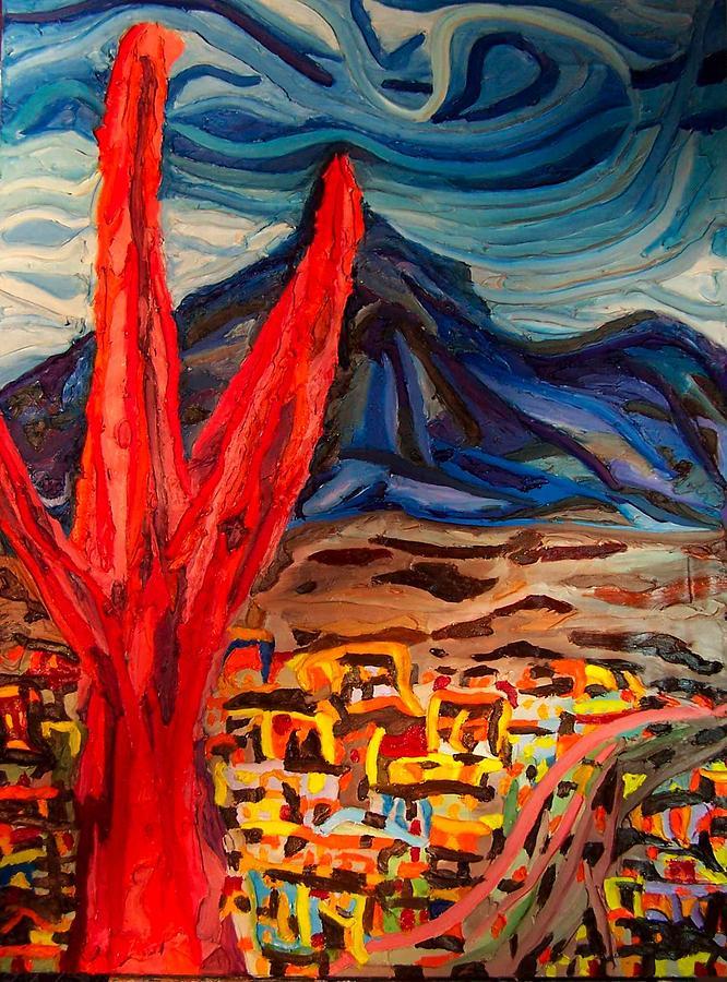 Phoenix  Rising Painting by Ira Stark