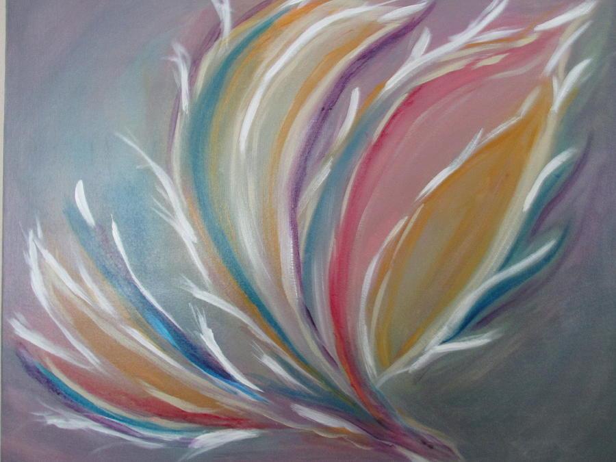 Phoenix Painting - Phoenix Rising by Sharyn Winters