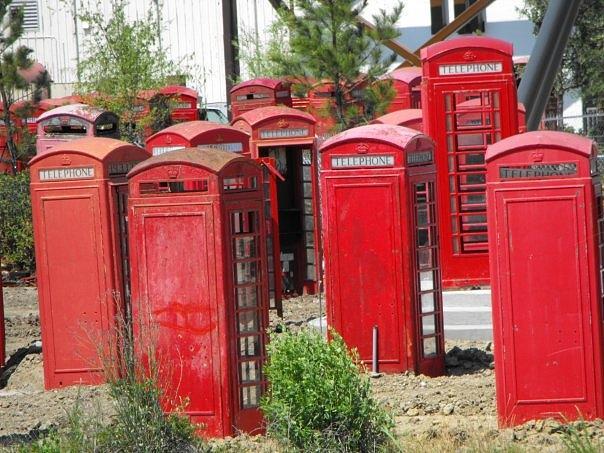 phonebooth graveyard photograph by kim baxter