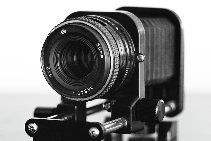 Lens Photograph - Photo Gear by Oleksiy Maloshtan