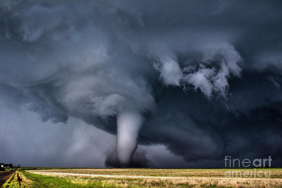 Severe Weather Photograph - Photogenic Tornado by Francis Lavigne-Theriault