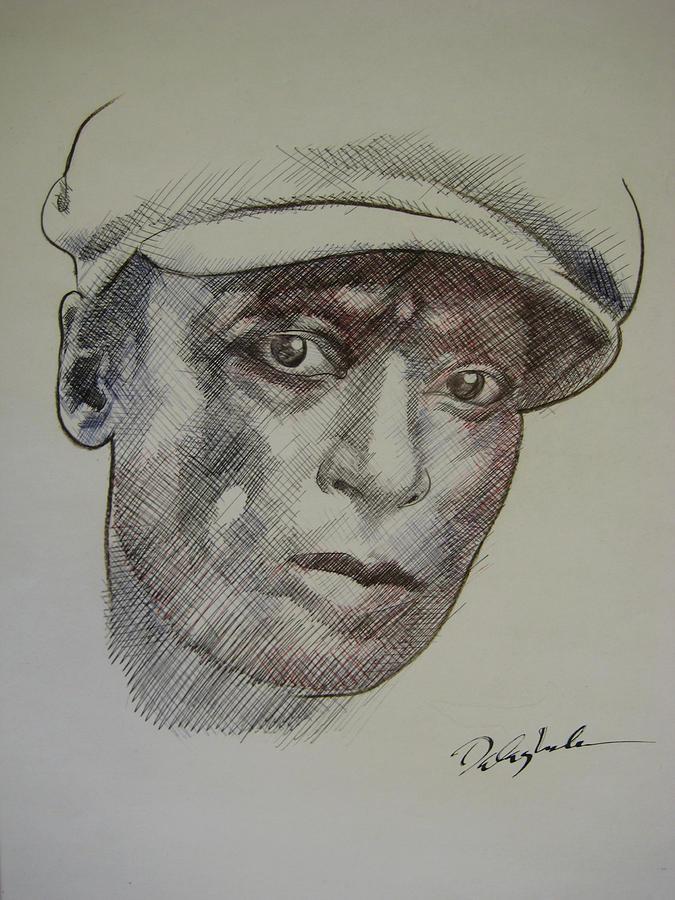Man Drawing - Photograph Of Jefferson by Dalushaka Mugwana
