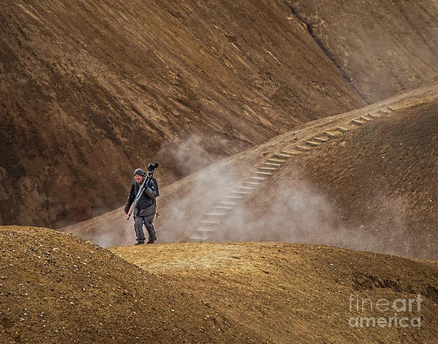 Iceland Photograph - Photographers Searching For Composition V by Izet Kapetanovic