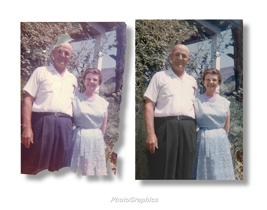 Photographics Restoration No. 7 Photograph by Richard Cox