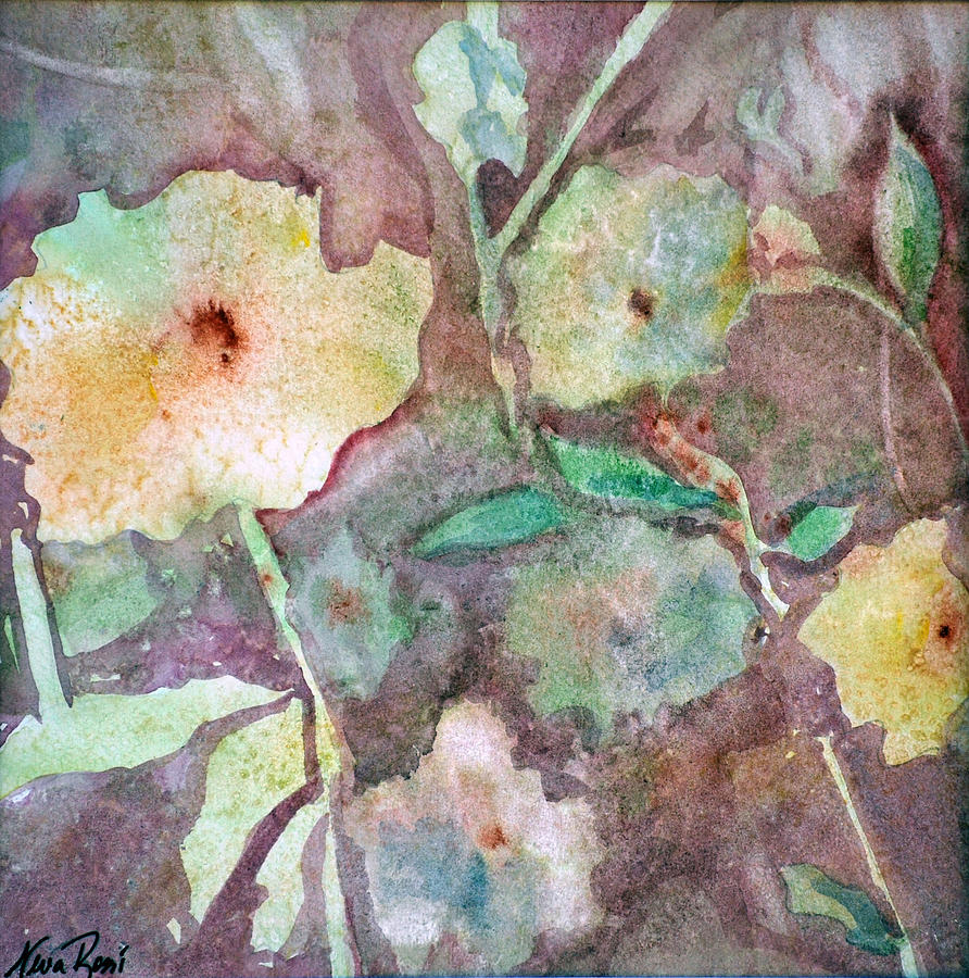 Flowers Painting - Photosynthesis by Neva Rossi