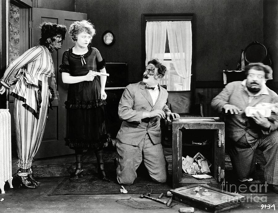 Mack Sennett Photograph - Phyllis Haver Home Talent 1921 by Sad Hill - Bizarre Los Angeles Archive
