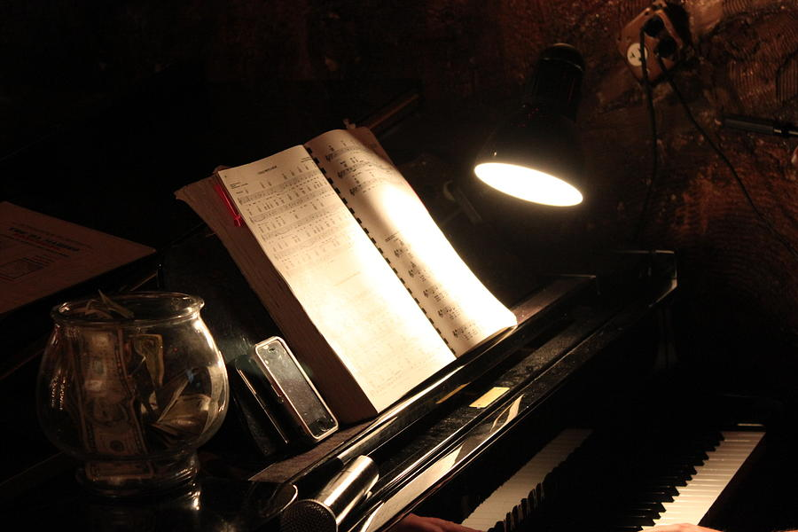 Piano Photograph - Piano Bar by Lauri Novak