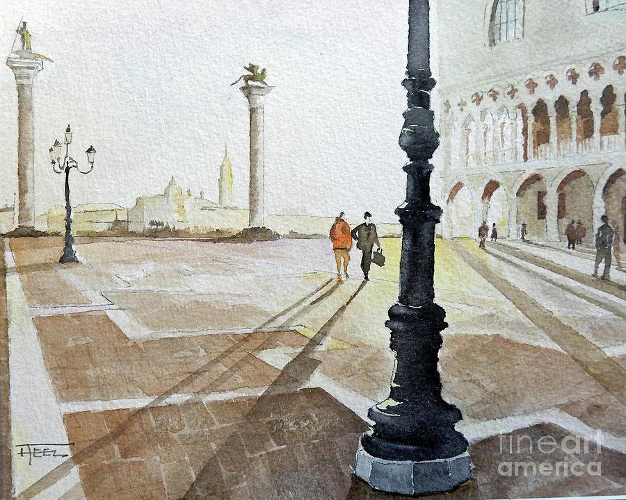 Piazza de San Marco - Venice by Harold Teel