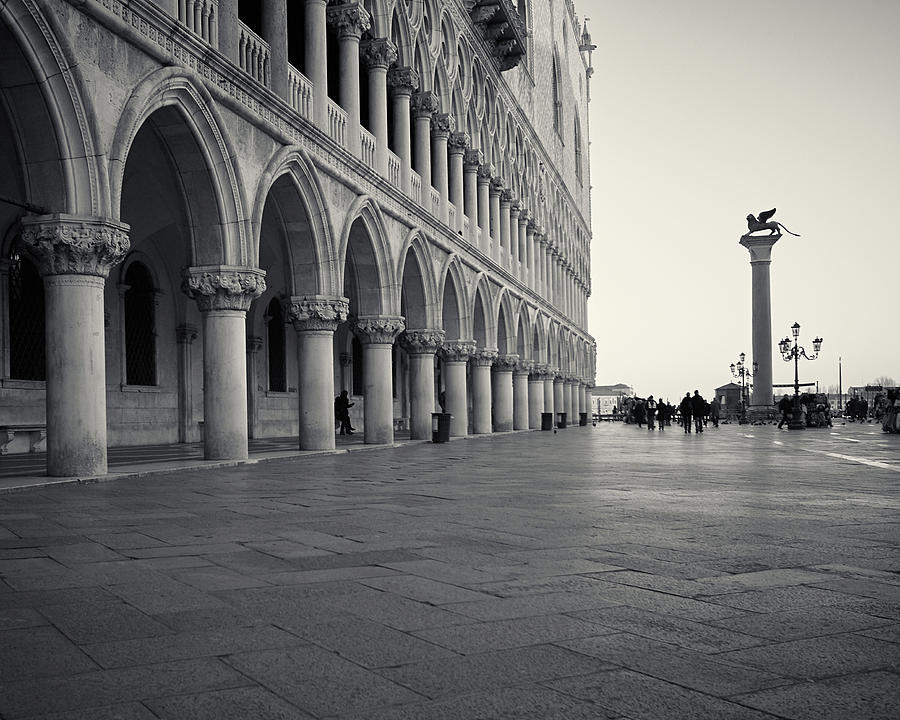 Piazza San Marco, Venice, Italy by Richard Goodrich