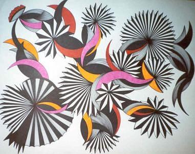Abstract Geometric Drawing - Pic 3 by Joyce Blair