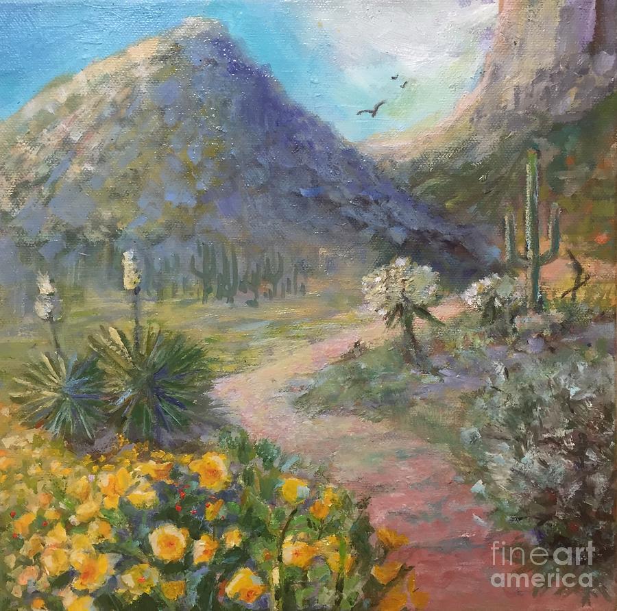 Picacho Peak by Patricia Amen