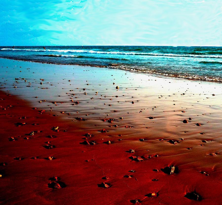 Beach Photograph - Picasso Beach by Jo Ann