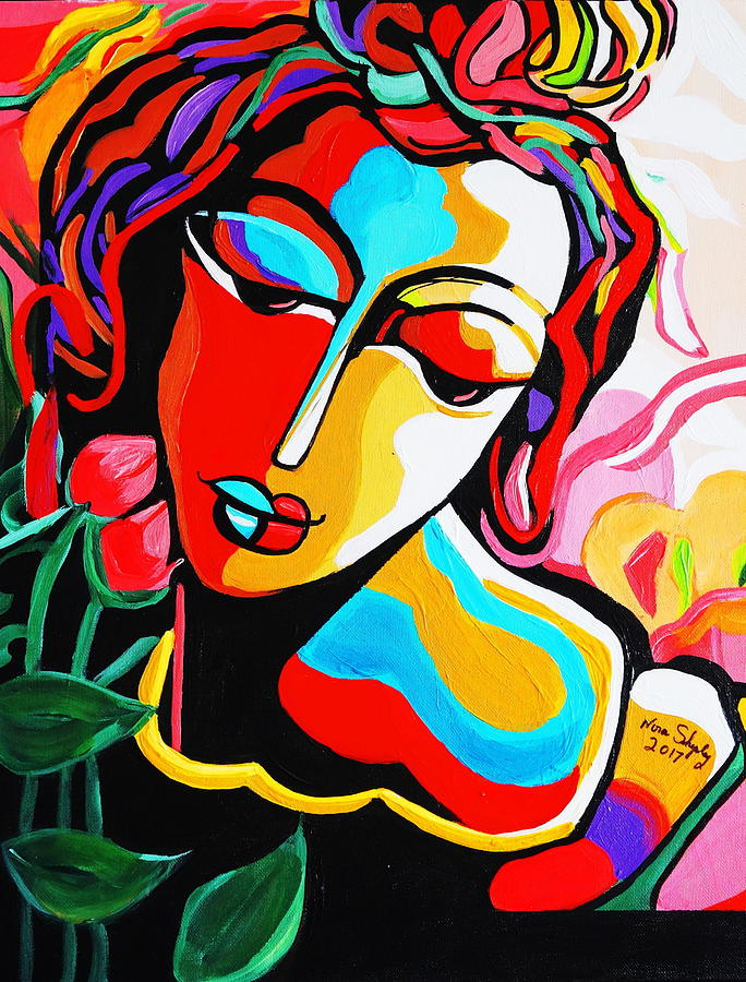 Picasso Color Me Painting By Nora Shepley