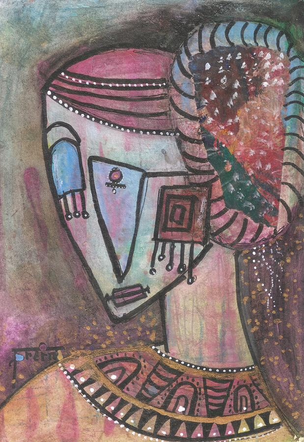 Picasso Style Mixed Media - Picasso Inspired by Prerna Poojara