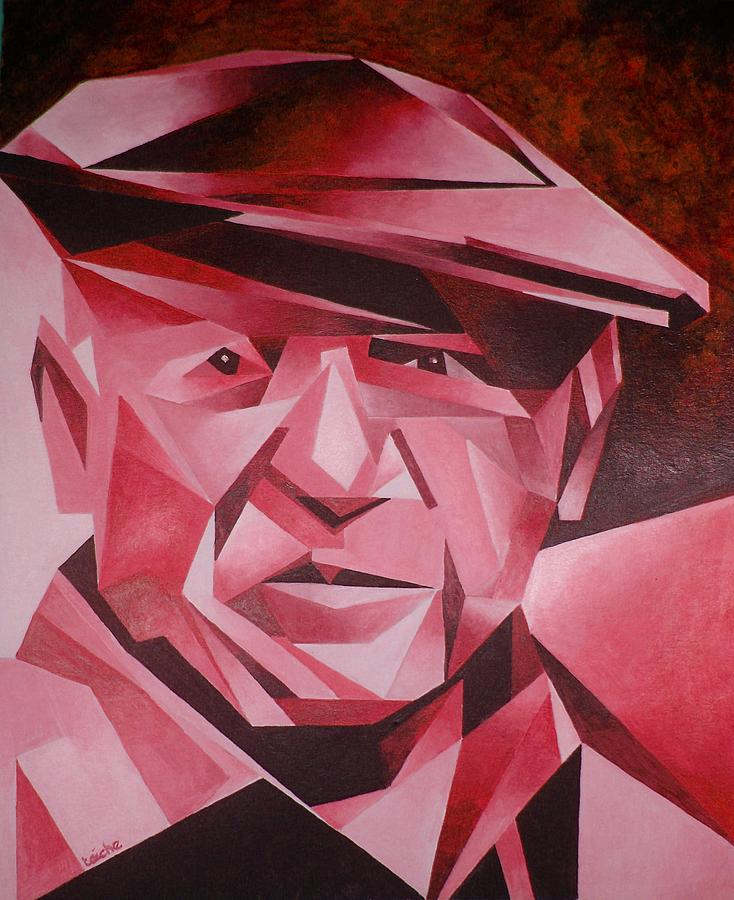 Picasso Portrait The Rose Period Painting by Taiche ...
