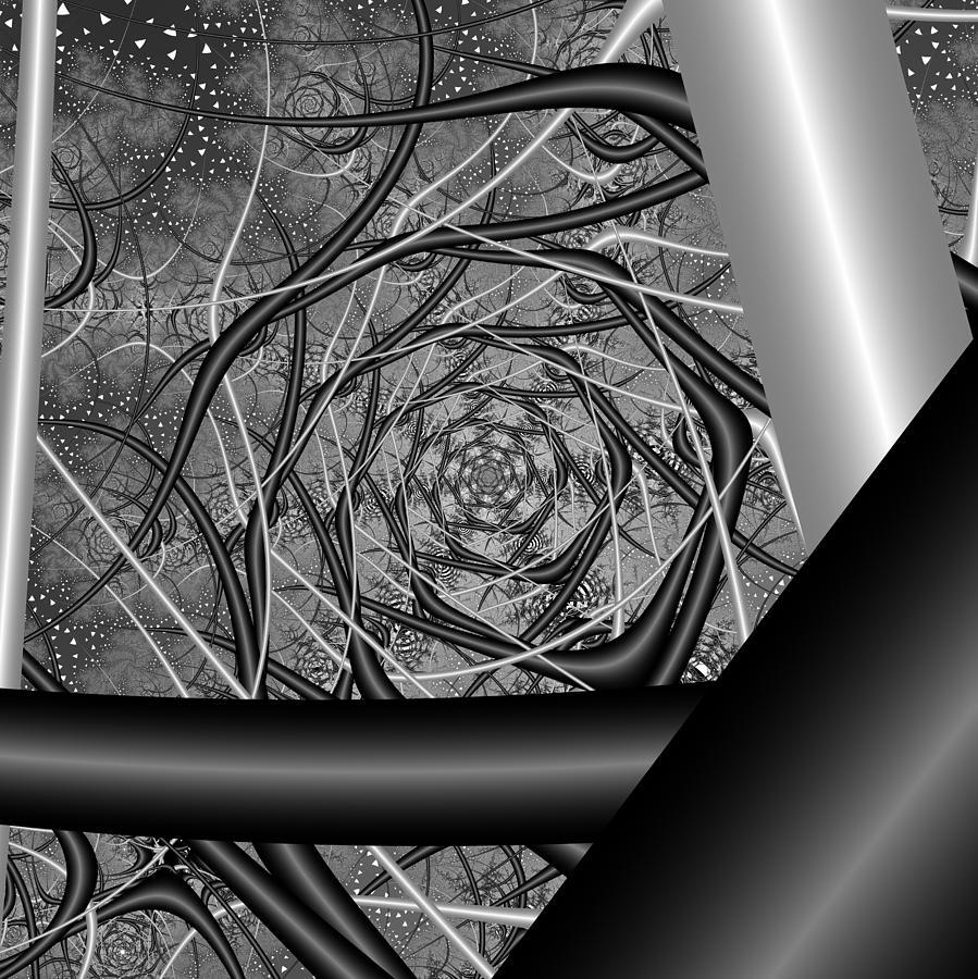 Abstract Digital Art - Picatfiest by Andrew Kotlinski