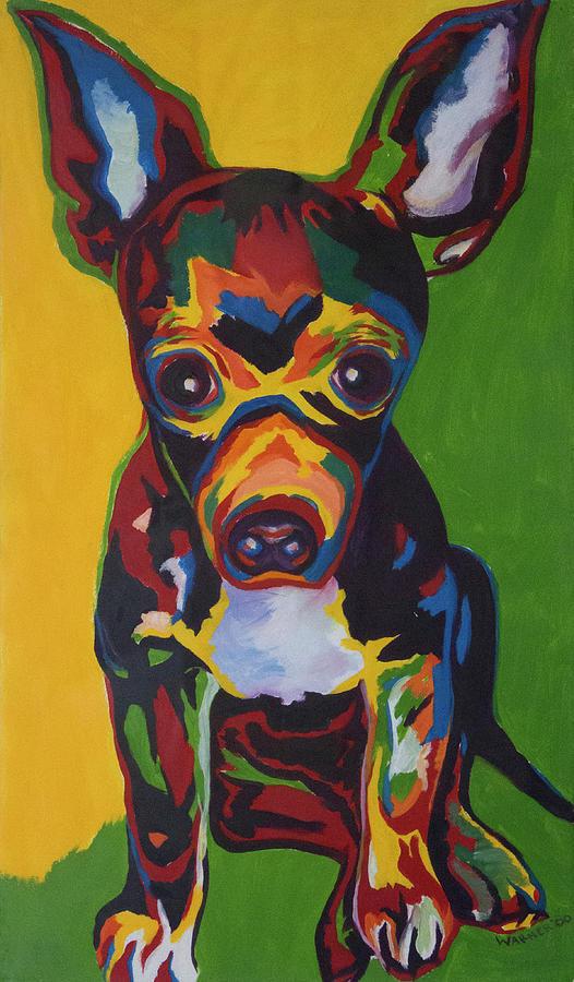 Pichu Painting - Pichu by Jackie Warner