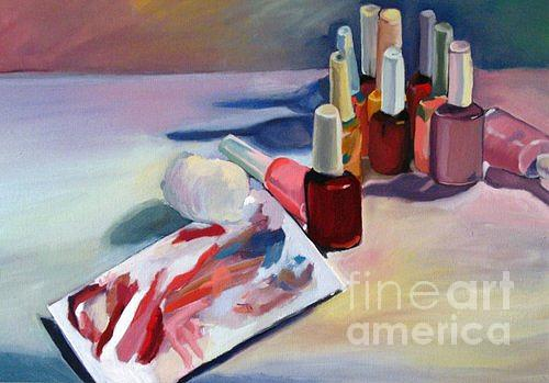 Still Life Painting - Pick A Color by Stephanie Allison