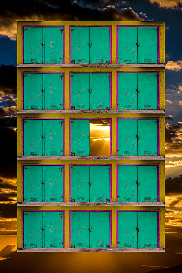 Pick a Door by Harry Spitz