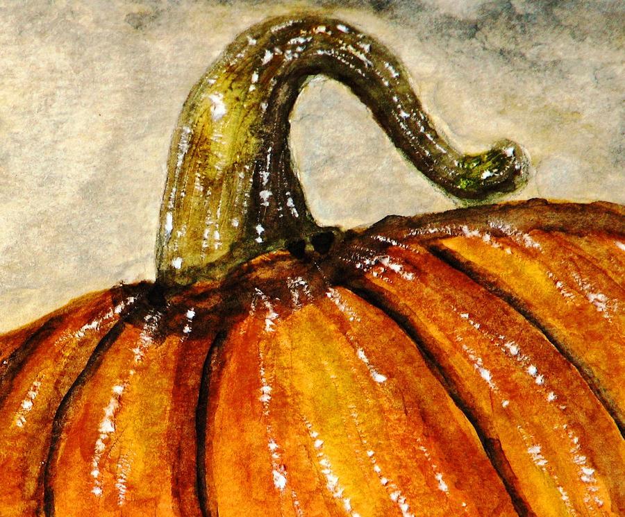 Pumpkins Painting - Pick A Pumpkin by Angela Davies