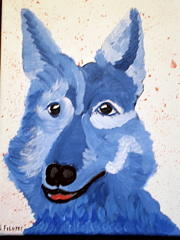 Pet Portraits Painting - Pick Me by Suzanne Filotei