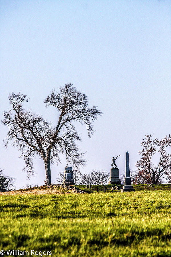 Picketts Charge Photograph by William Rogers