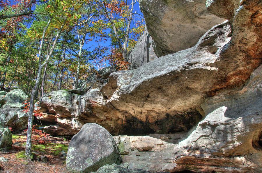 Missouri Photograph - Pickle Spring Sandstone by Steve Stuller