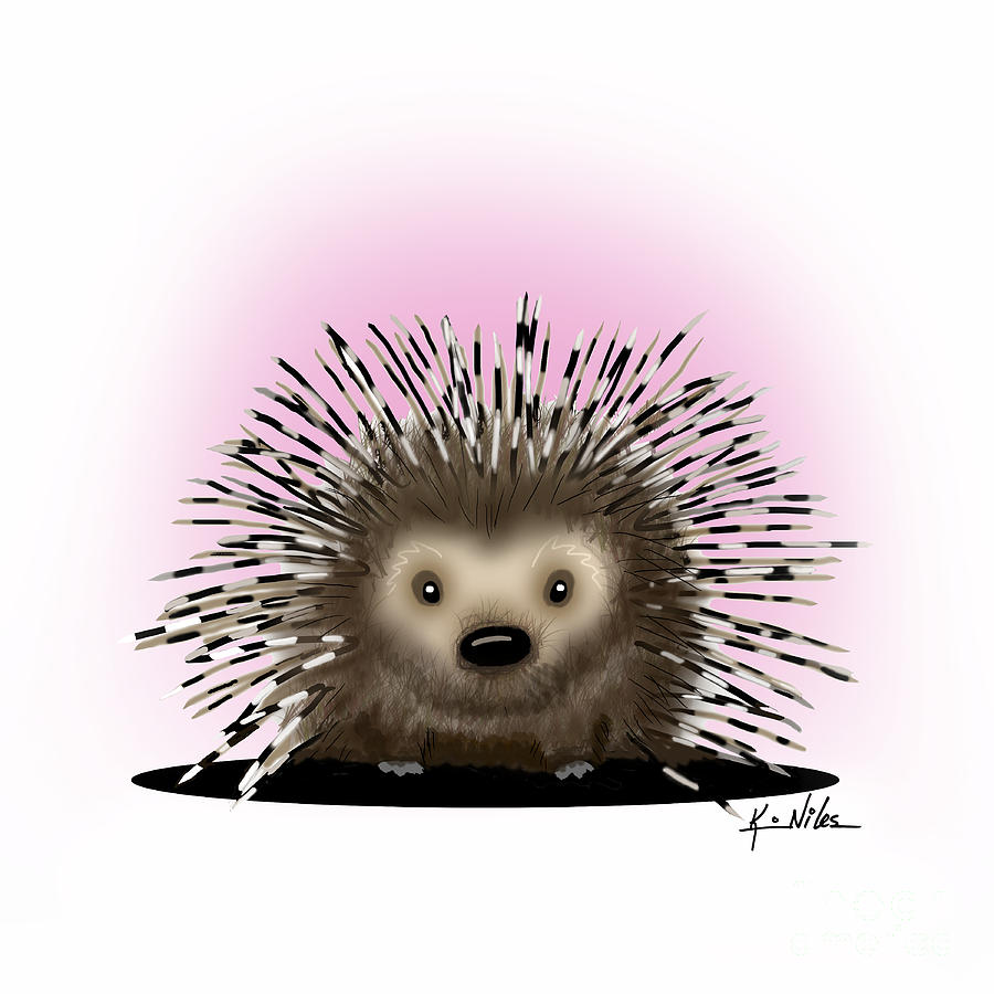 Pickles The Porcupine by Kim Niles